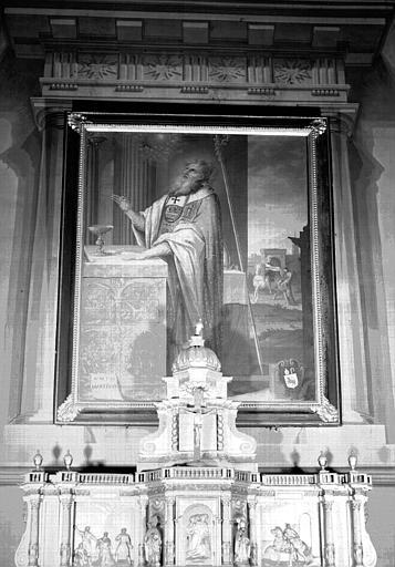 Peinture : saint Martin