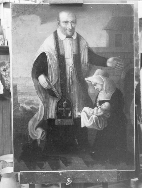 tableau : Saint Vincent de Paul, vue générale