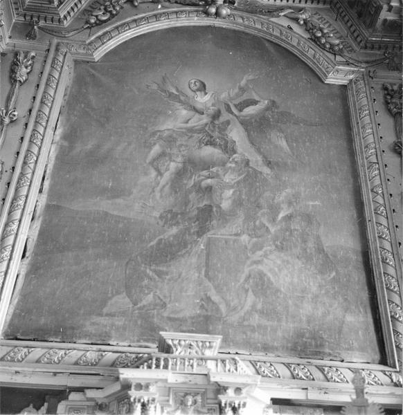 tableau du retable du maître-autel : L'Assomption, vue générale