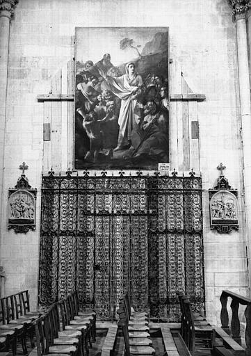 Tableau : la Prédication de sainte Marthe