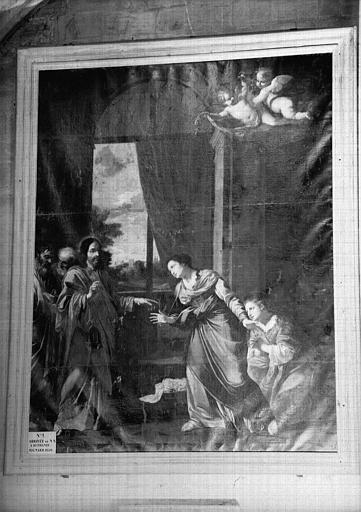 Tableau : l'Arrivée du Christ à Bethanie