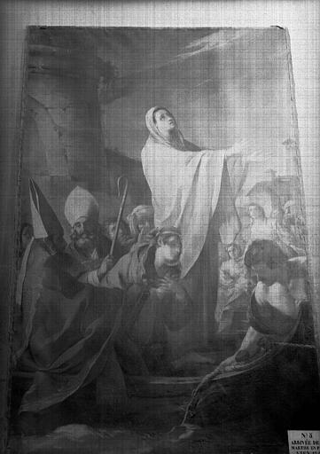 Tableau : l'Arrivée de sainte Marthe en Provence