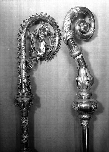 crosse pastorale offerte au cardinal Guilbert par Pie IX