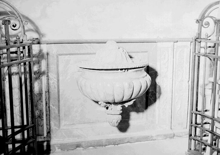 Fonts baptismaux en marbre