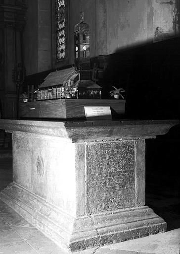 Tombeau de Nicolas Perrenot de Granvelle et de sa femme