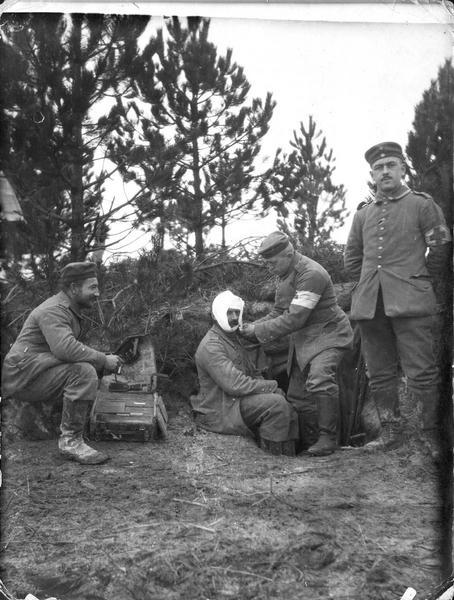 Poste de secours allemand
