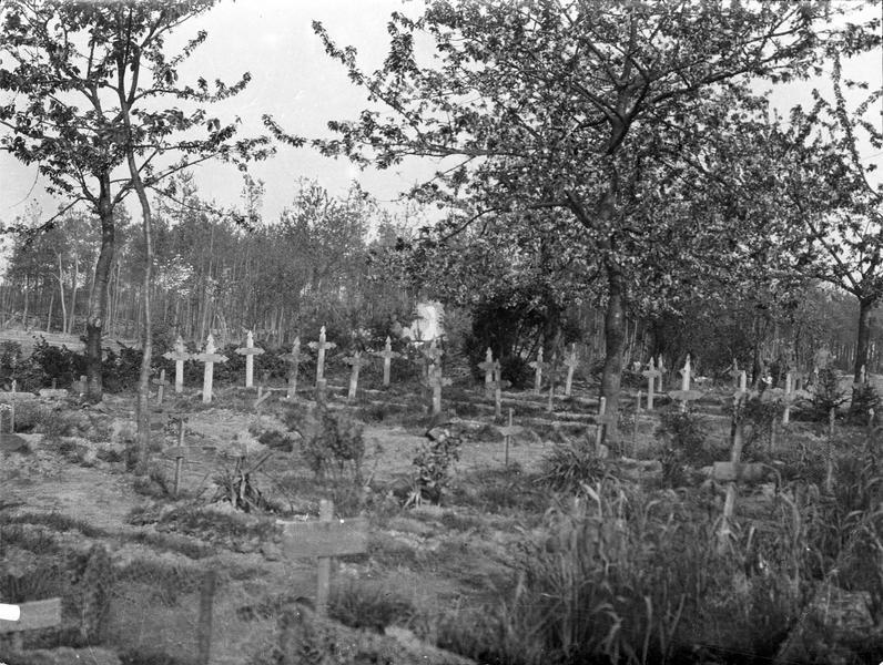 Cimetière de soldats anglais près d'Ypres