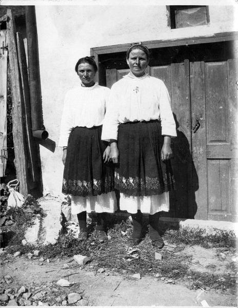 Paysannes bulgares près de la ville de Bélogradtchik