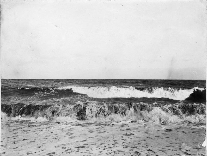 La Mer noire près de Sébastopol