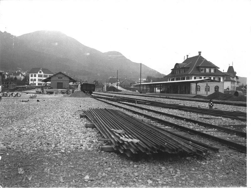 La nouvelle gare du Nord à Grenchen (en Allemand)