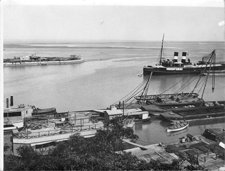 Les docks de Suez