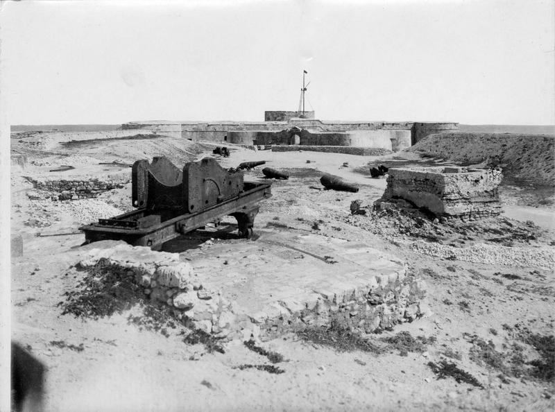 Le port célèbre d'Aboukir près d'Alexandrie