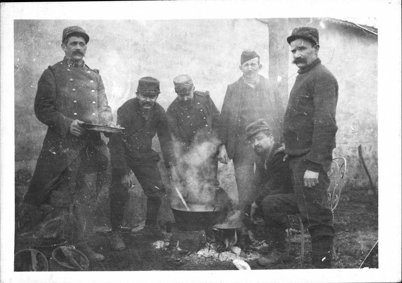 Guerre européenne. Les territoriaux font cuire la soupe