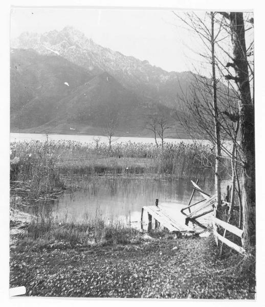 Vue sur le lac du Ledro