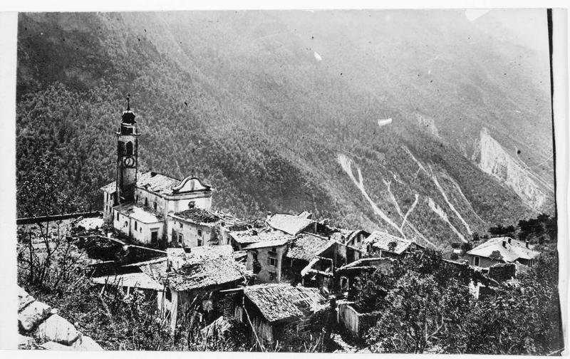 Village au coeur de la vallée de la Terragnola
