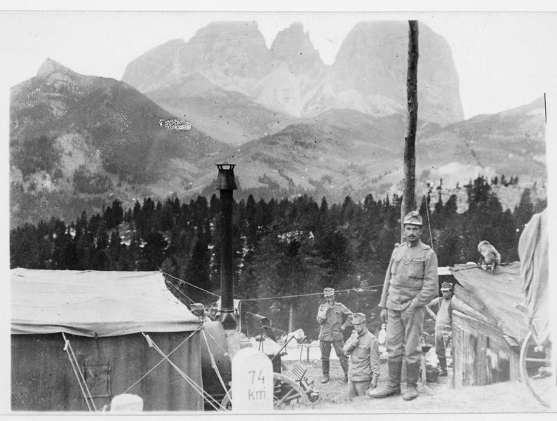 Boulangerie de campagne austro-hongroise dans les Dolomites