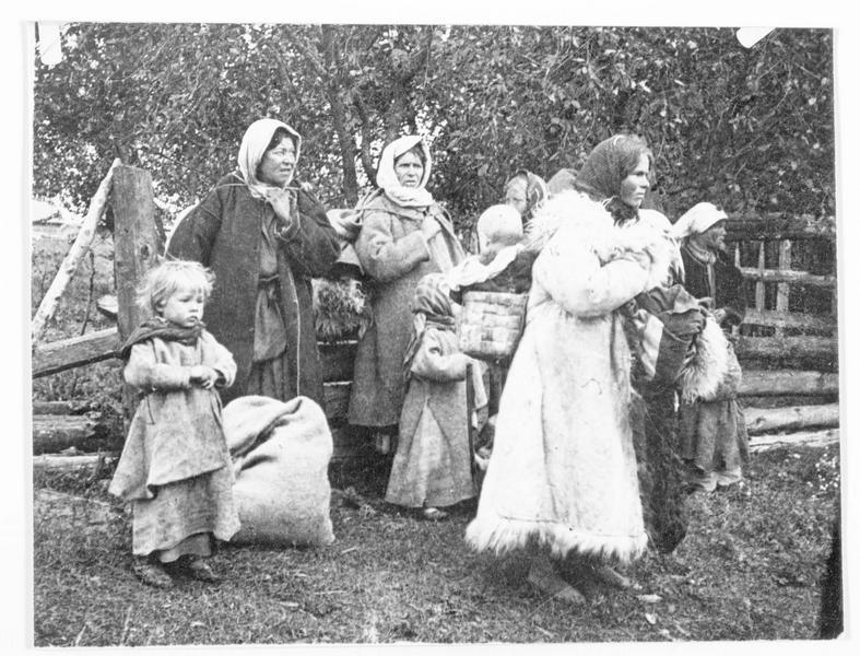 Nord de la Bucovine, paysans du pays