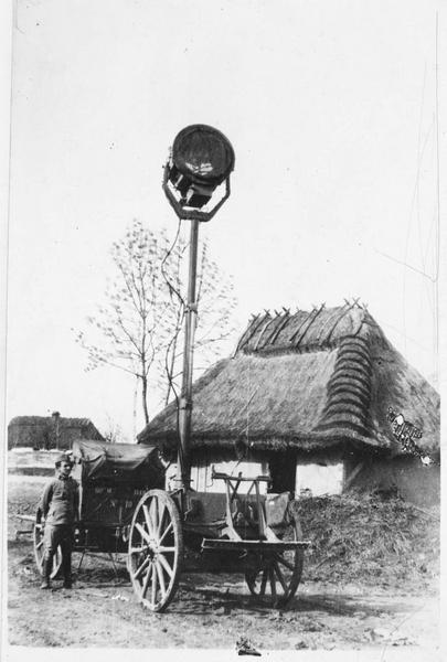 Front de la Strypa, projecteur austro-hongrois