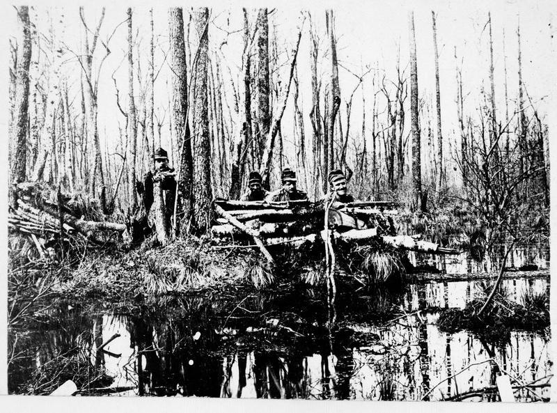 Armée du général von Linsingen en Volhynie, sentinelles austro-hongroises en position