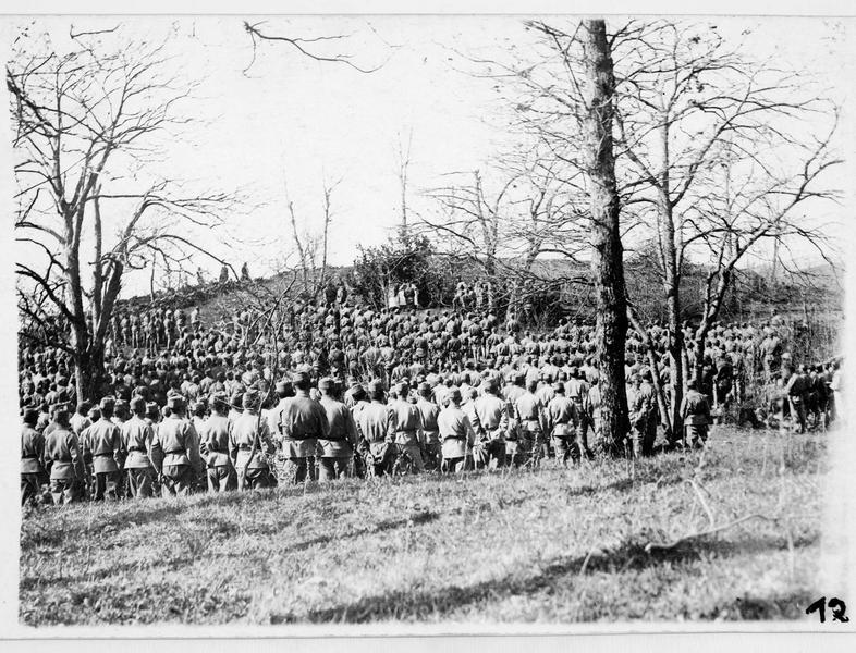 Messe austro-hongroise derrière le front
