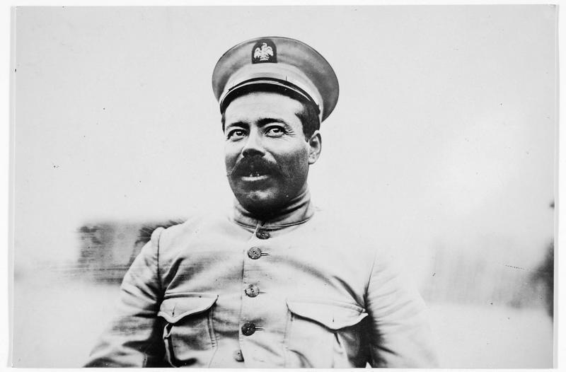 Portrait du général Villa
