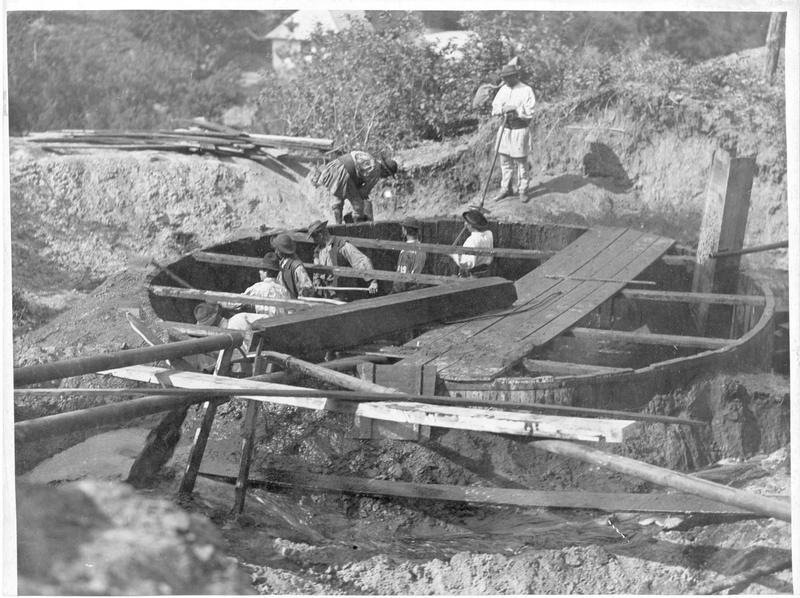 Construction d'un puits de pétrole