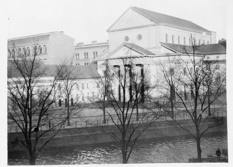 La nouvelle synagogue de Koltbue, terminée récemment