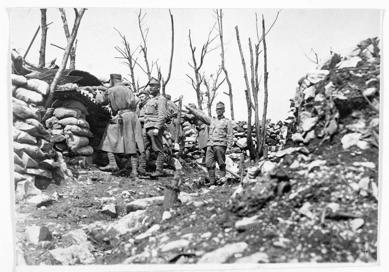 Une position fortement défendue par les Autrichiens sur les hauteurs de Doberdo
