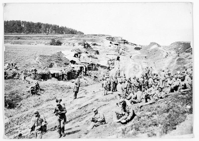 Campement austro-hongrois à Kirlibaba (en allemand)