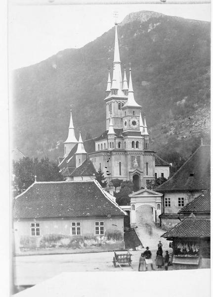 Eglise orthodoxe Saint-Nicolas de Scheii Brasovului, à Kronstadt (en allemand)