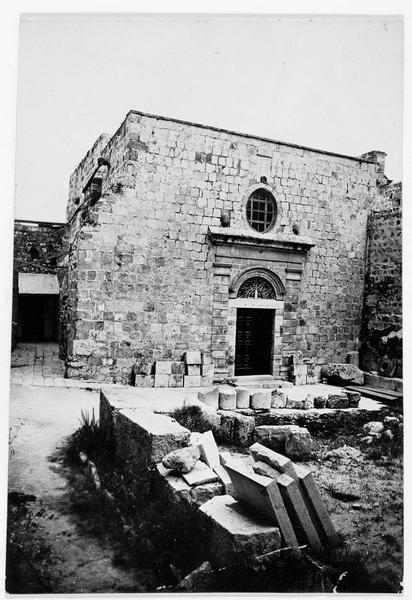La chapelle du Saint-Sépulcre: vue extérieure