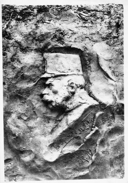 Portrait de François-Joseph, fait dans une tranchée de Galicie par un soldat allemand