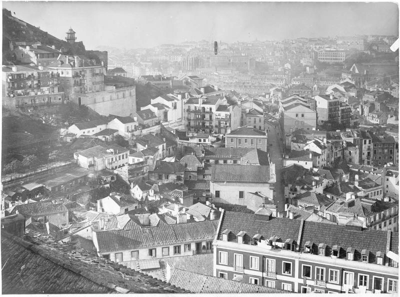 Vue générale de la ville de Lisbonne