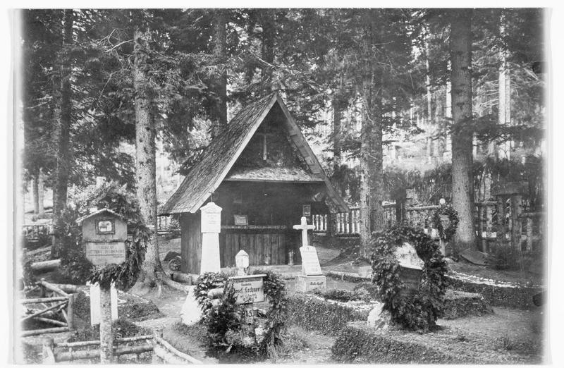 Cimetière de soldats dans le sud du Tyrol