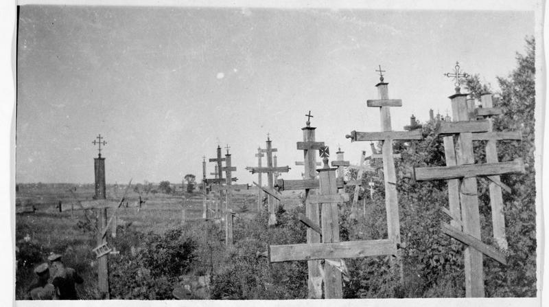 Cimetière polonais près de Brest-Litowsk (anciennement)