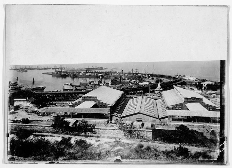 Les bâtiments de quarantaine du port