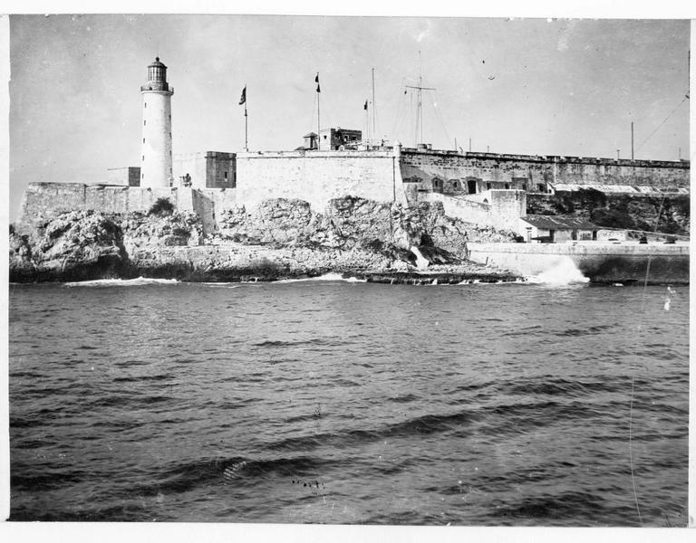 Vue sur les fortifications de La Havane