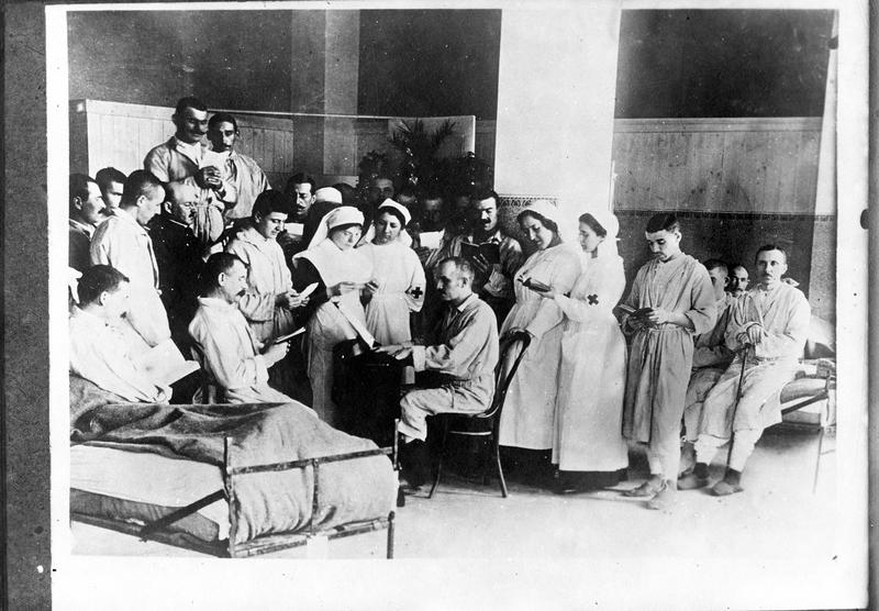 Service de Pâques dans un hôpital