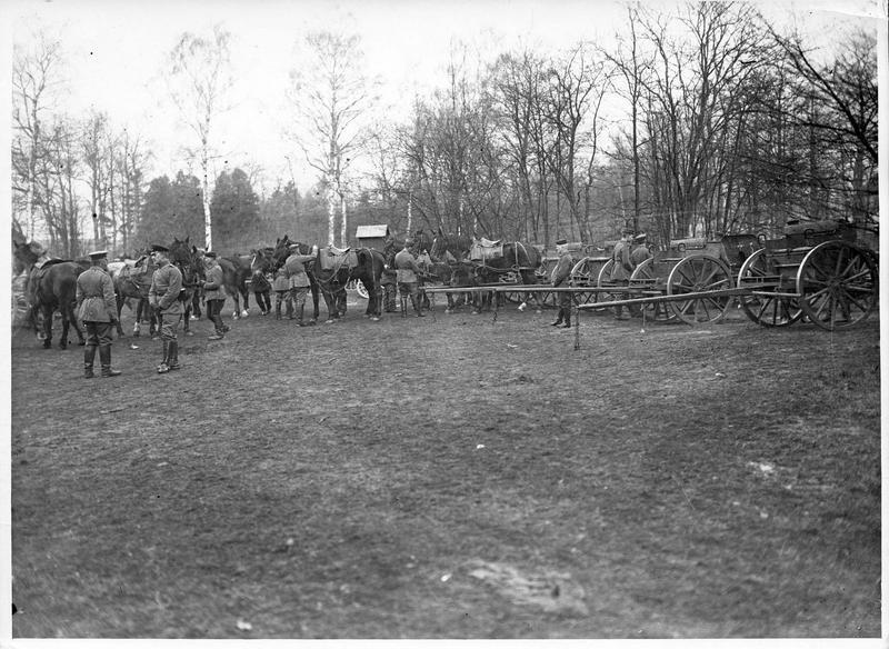 Artillerie allemande: halte