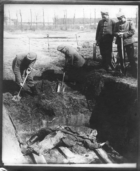 Comment les Allemands enterrent leurs morts