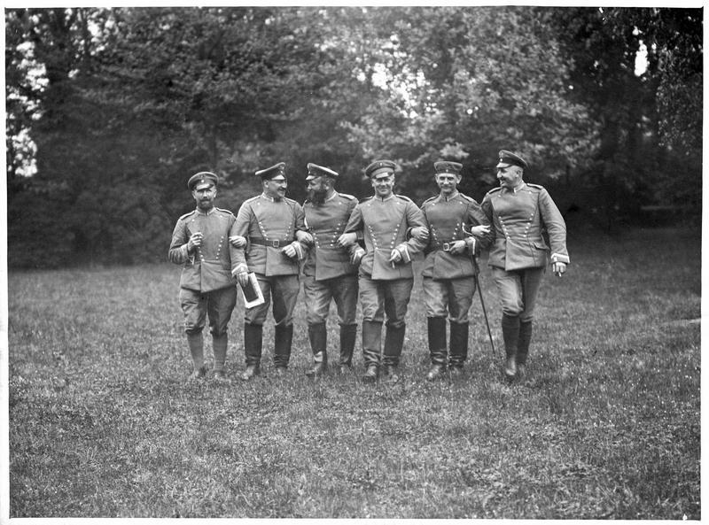 [Portrait de groupe de soldats allemands]