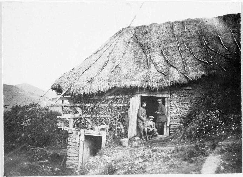 Maison typique de paysans monténégrins