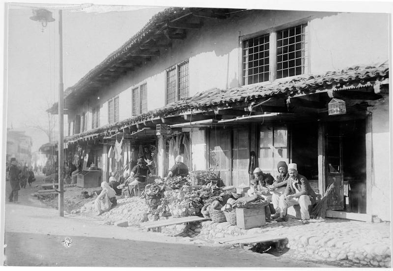 Le quartier du bazar de Scutari (en italien)
