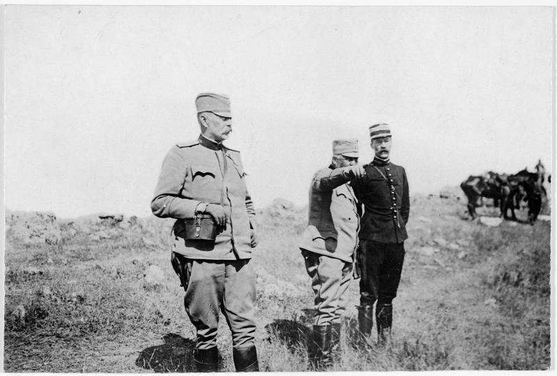 Attaché militaire français auprès des troupes serbes à Salonique
