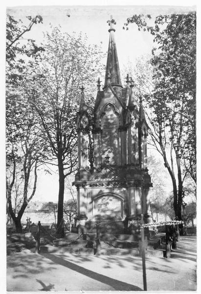 Monument aux soldats hanovriens dans le cimetière de Langensalza