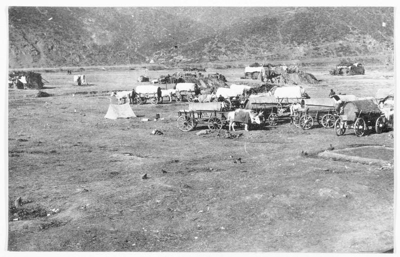 Convoi austro-hongrois sur le plateau du Carst