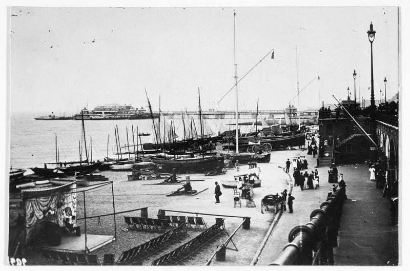 Vue du port de Brighton