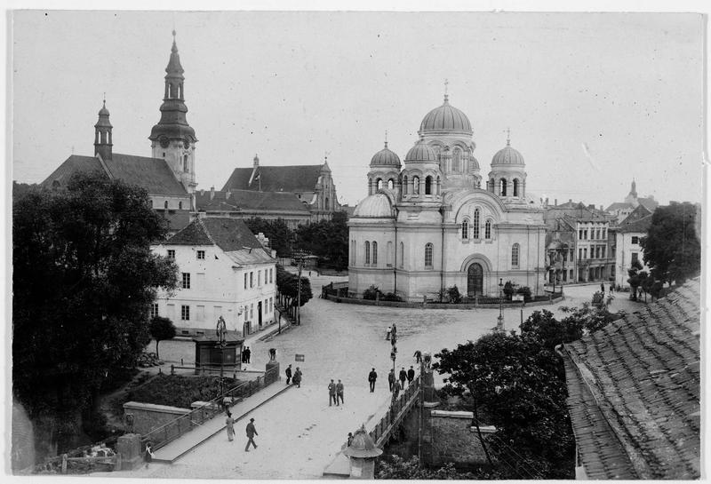 L'église catholique de Kalisch (en allemand)