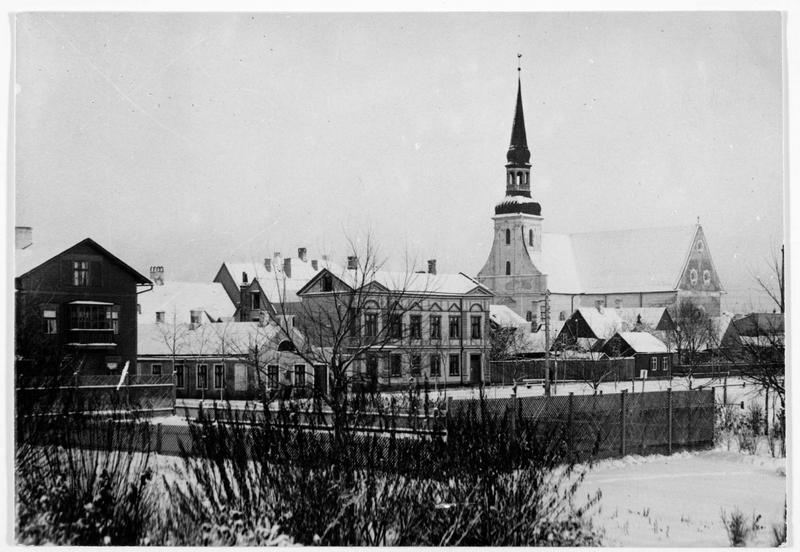 Courlande: le centre ville de Pernau (en allemand)