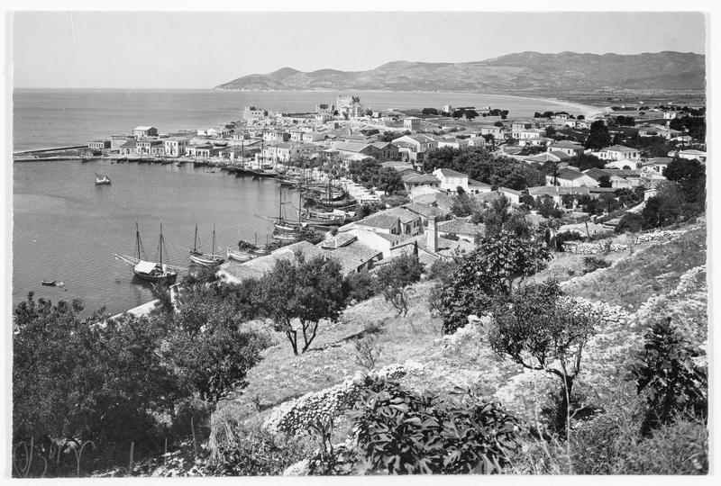 Le port de Vathy sur l'île de Samos